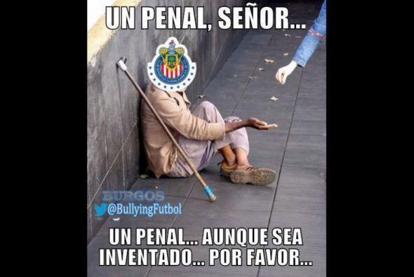 Las redes se burlaron con todo de las Chivas y sus ayudas arbitrales, ad...