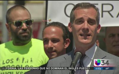Plan 'Visión Cero' en Los Angeles