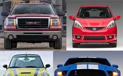 ¿Qué dice su rostro?Sonriente, enojado, cool o agresivo. Los autos puede...