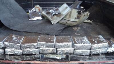 Un mexicano fue capturado cuando trataba de contrabandear 22 libras de m...