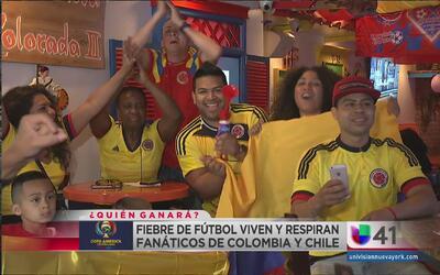 Se desborda la pasión ante el juego Colombia vs Chile