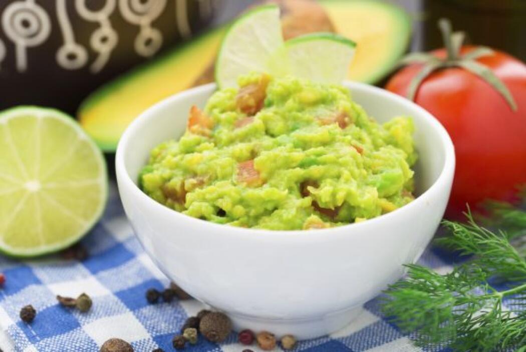 Un delicioso guacamole, hecho con la receta tradicional, pero adicionado...