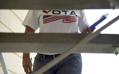 El voto latino en Florida es clave.