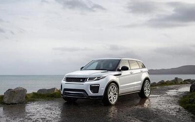 Land Rover actualizó la Evoque.