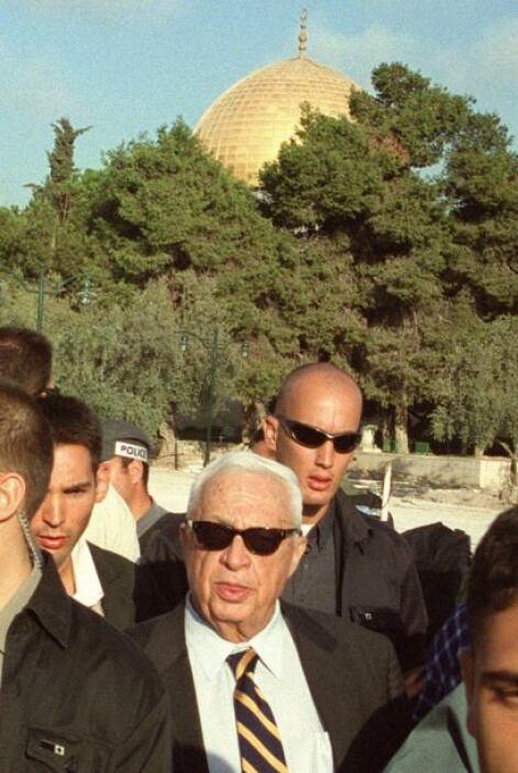 Sharon gobernó el país entre 2001 y 2006 y, un año antes de sufrir un de...