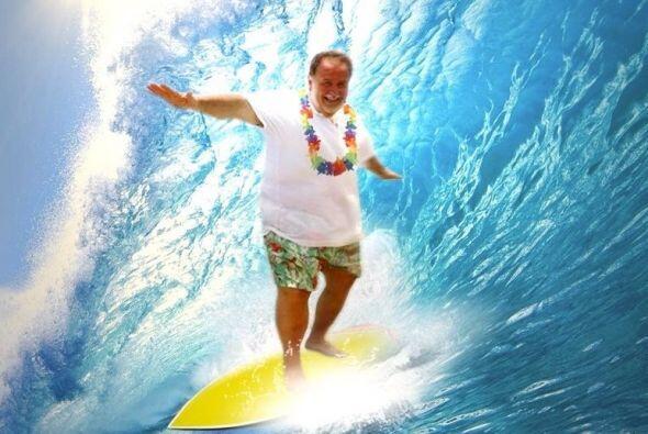 Lo que si ha hecho Raúl es surfear.