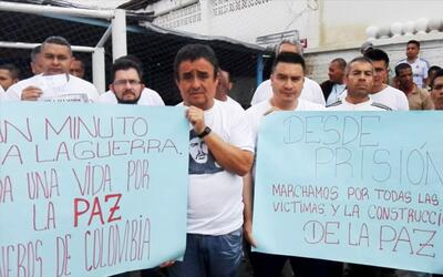El 'sí' a la paz en Colombia también se oye en las cárceles