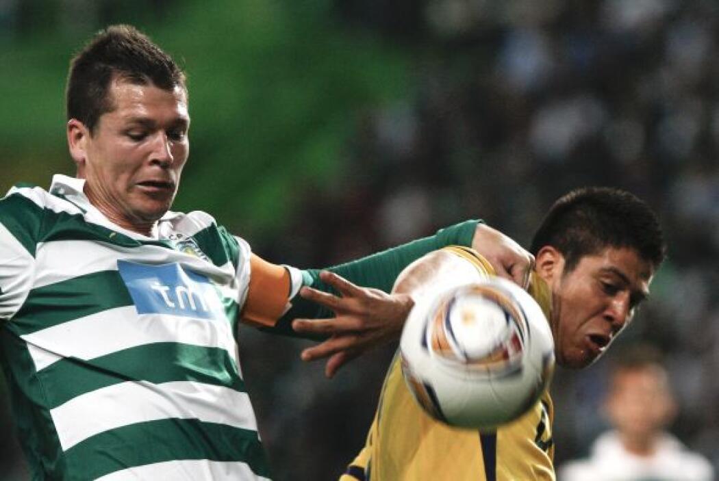 En el último partido de la Ida, el Sporting de Lisboa venció en su casa...