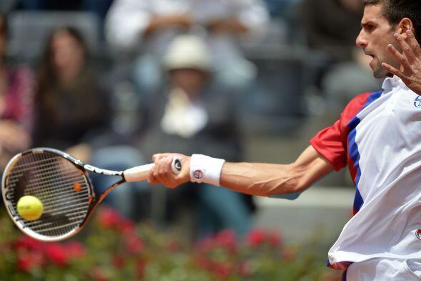 A Mónaco en octavos le derrotó por 4-6, 6-2 y 6-2.