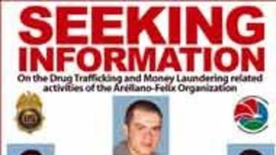 La DEA dio a conocer los nuevos rostros de narcos del cártel de Tijuana...
