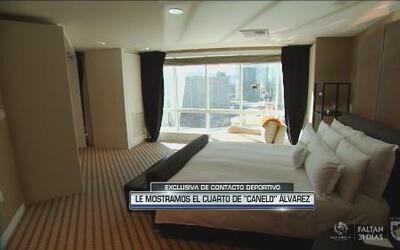 Te mostramos en exclusiva el cuarto del 'Canelo' Álvarez en el MGM Grand