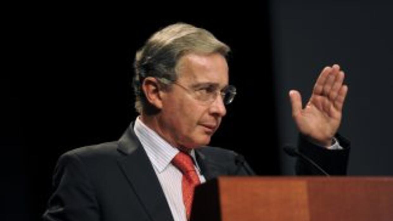 El ex presidente Álvaro Uribe.