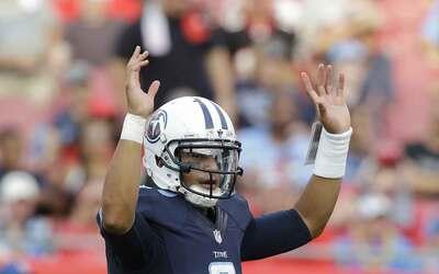 Marcus Mariota lanzó cuatro pases de touchdown, nueva marca en primer pa...