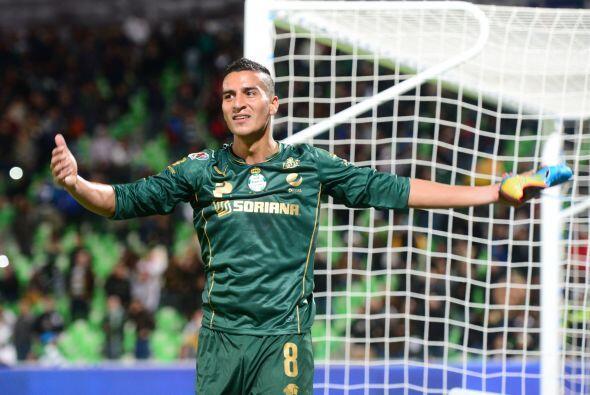 """Diego """"Pulpo"""" González, jugador de Santos, también ha teni..."""