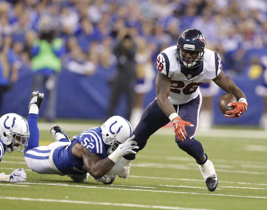 Los Houston Texans vencieron 16-10 a los Indianapolis Colts por lo que a...