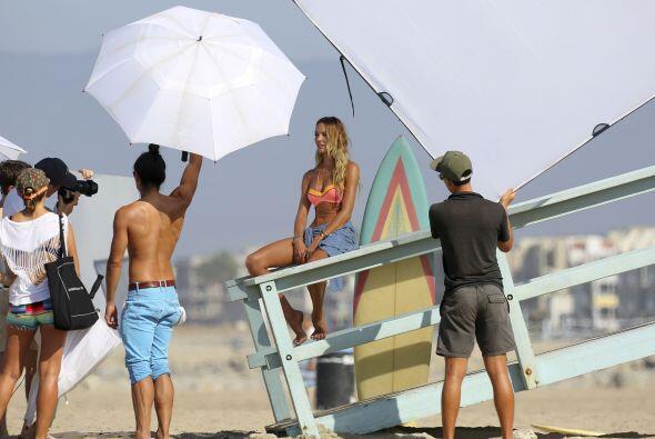 La modelo portó un coqueto bikini, el cual mostró cuáles serán las tende...
