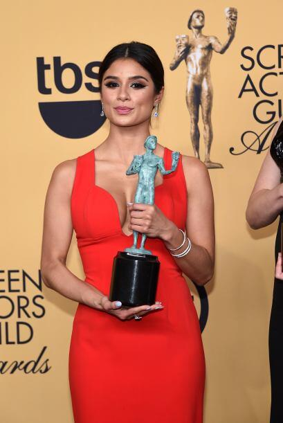 La latina Diane Guerrero, parte del elenco de 'Orange is the New Black'.