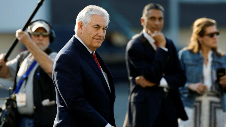 Rex Tillerson y John Kelly llegan a México para reunirse con el presiden...