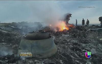 Avión de Malaysia Airlines fue derribado en Ucrania