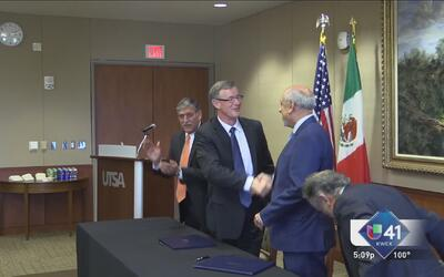 Universidad de Texas firma acuerdo con México
