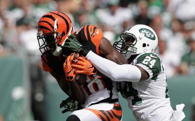 La secundaria de Jets le vio el polvo a A.J. Green