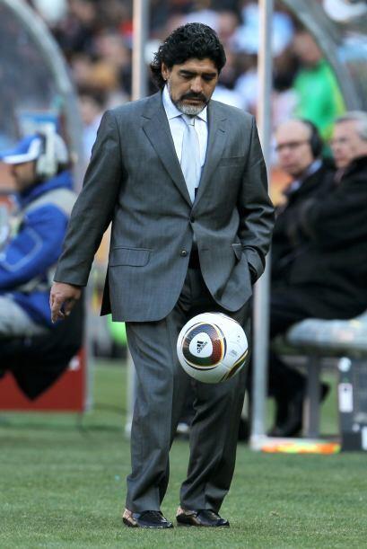 Ya durante el partido, aprovechó cada balón que le lleg&oa...