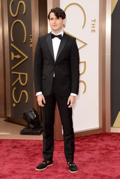 ¿Qué opinan de Ezra Koenig? Fue otro de los galanes que estuvo en el Oscar.