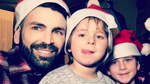 Mira cómo pasó Jomari Goyso la Navidad con sus sobrinos en España