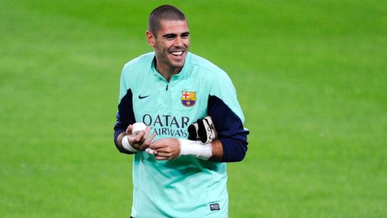 El portero catalánse ha despedido de la plantilla y del cuerpo técnico...