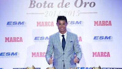 Cristiano Ronaldo es el que más cobra en España.