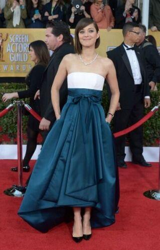 Esto sí me dejó sin palabras, Marion Cotillard, eres la perfección andando.