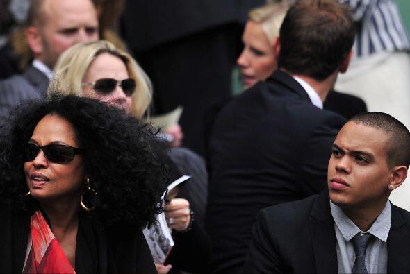 Sin duda el partido que más atrajo a las celebridades fue el de Serena W...