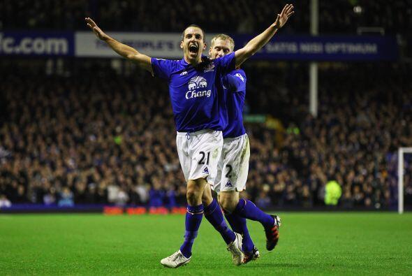 Un gol de Leon Osman le valió a los 'Toffees' para imponerse por...