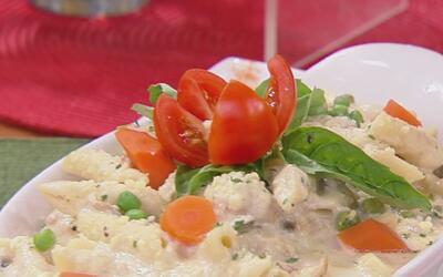 Buon appetito! Francisca nos mostró su destreza para preparar la Pasta M...