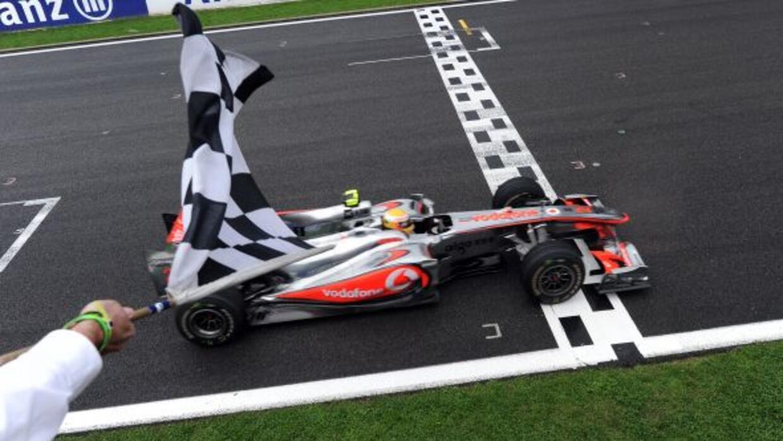 Hamilton, que ganó el año pasado el GP de Bélgica, espera poder repetir...