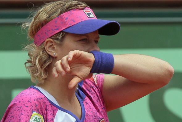 La sorpresa del día: La caída de Kim Clijsters es la prime...