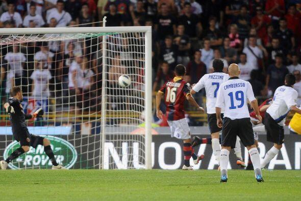 Inter siguió buscando el gol y lo consiguió al final del c...