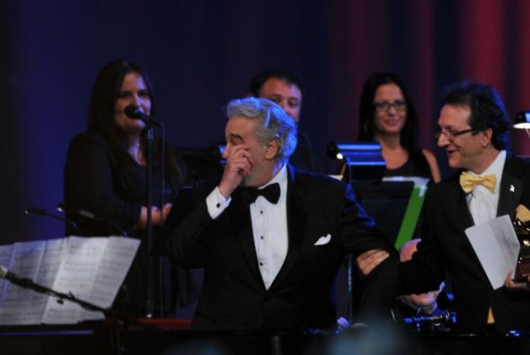 Y al tenor, le ganó el sentimiento.