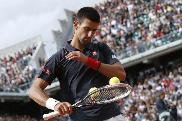 Por su parte, el serbio Novak Djokovic sufrió la prueba más dura este añ...