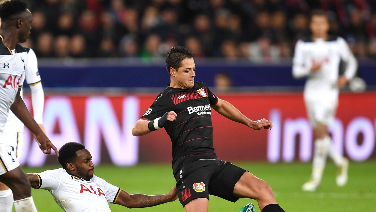 Chicharito vs. Tottenham