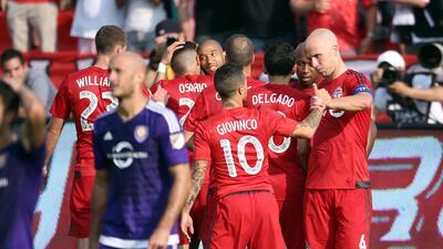 Toronto FC golea 5-0 a Orlando City y se acomoda en el Grupo de los 6