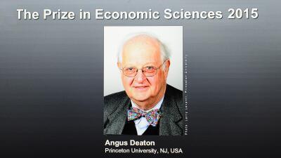 Angus Deaton, Pemio nobel economia