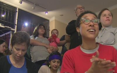 Distintas organizaciones locales se reunieron en Houston para manifestar...