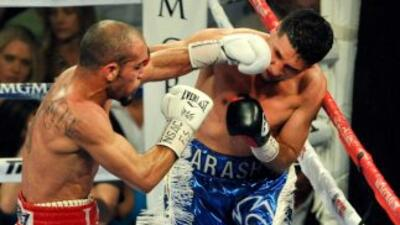 Raymundo Beltrán fue superior a Arash Usmane.