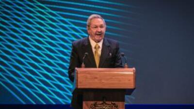El presidente de Cuba, Raúl Castro, exigió sacar a Cuba de la lista de p...