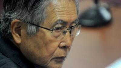 La defensa del ex presidente Alberto Fujimori, condenado a 25 años de pr...
