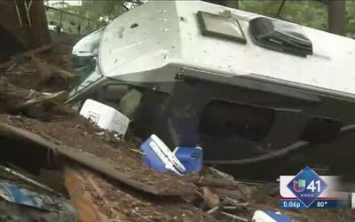 Wimberly en medio del caos tras tormentas