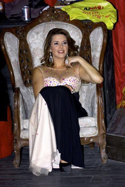Alicia Machado será la única mujer del elenco.