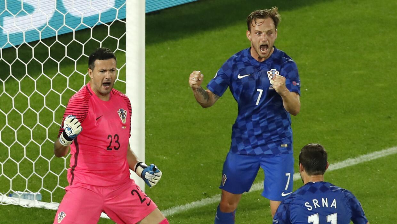 España, víctima de contraataque de Croacia