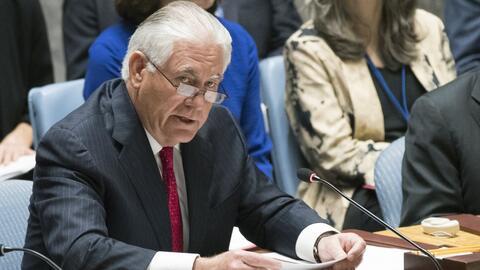 """EEUU dice ante la ONU que frenará a Corea del Norte con """"acciones milita..."""